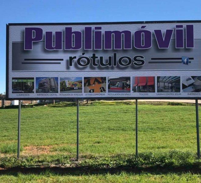 vallas publicitarias para carreteras