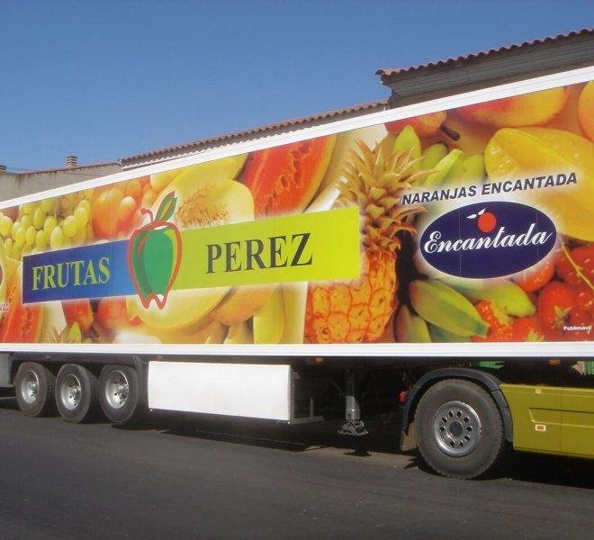 rotulacion camiones frutas